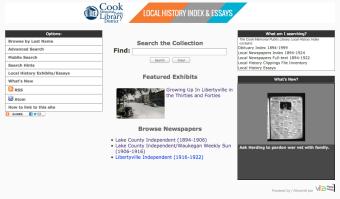 Cook memorial Public library VITA Site