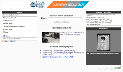 Cook memorial Public library VITA Site
