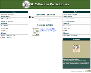 St. Catharines Public Library VITA site