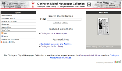 clarington news vita site