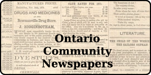 Ontario Community News