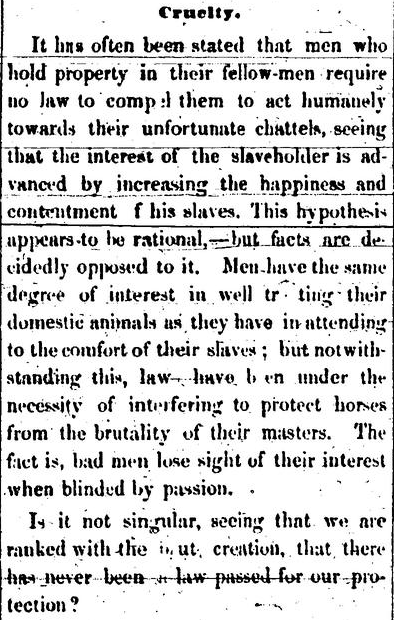 From the Voice of the Fugitive, February 26th, 1852.
